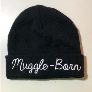 💚CLEARANCE❤️Muggleborn Embroidered Beanie